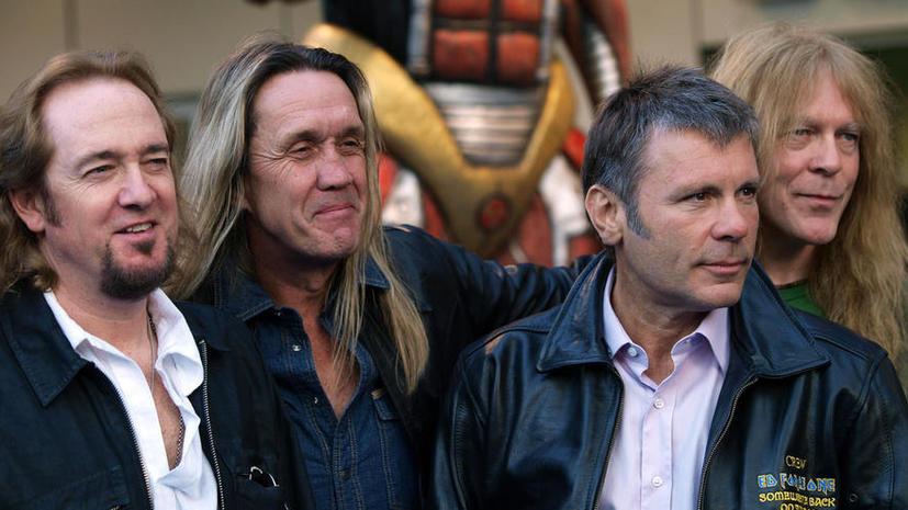 Iron Maiden ориентируется на данные о пиратских скачиваниях своих треков