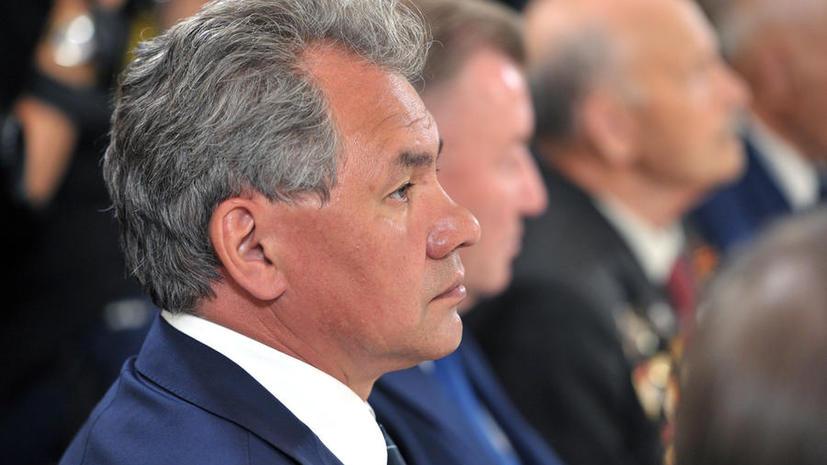 Сергей Шойгу: Минобороны в случае необходимости готово к эвакуации россиян из Сирии