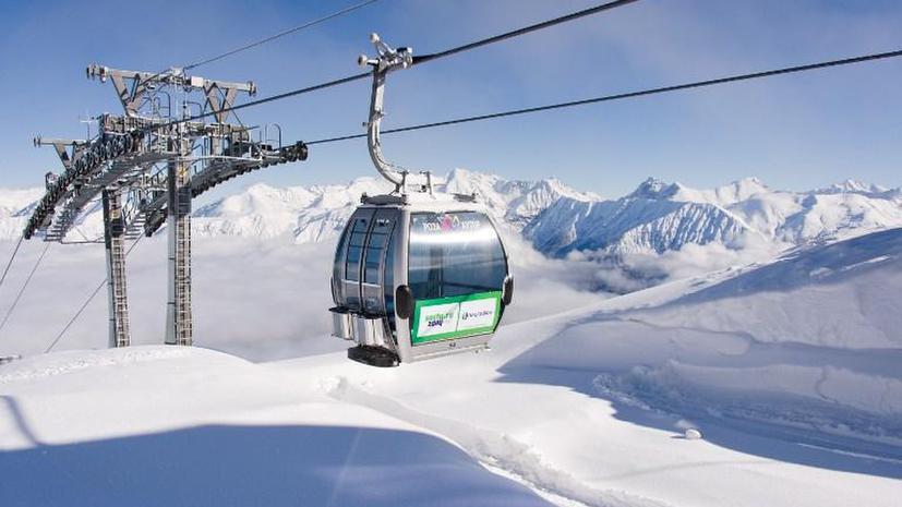 Россия уже начала запасаться снегом для Олимпиады в Сочи