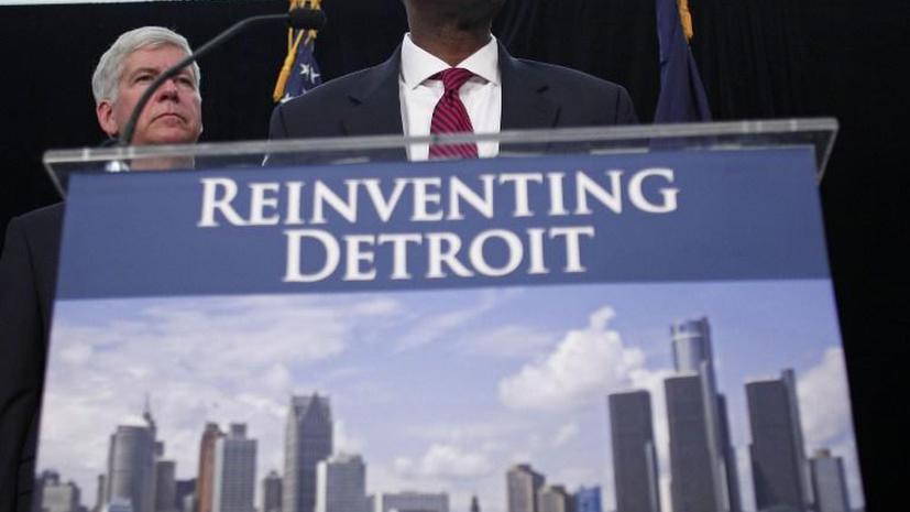 Город-банкрот Детройт представит план реконструкции долга