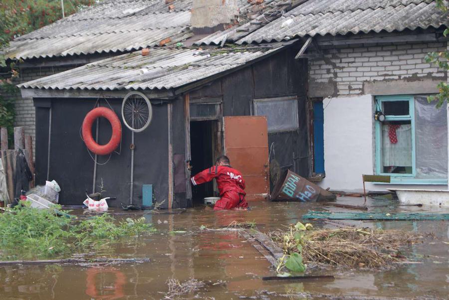 В Комсомольске-на-Амуре не осталось подтопленных домов