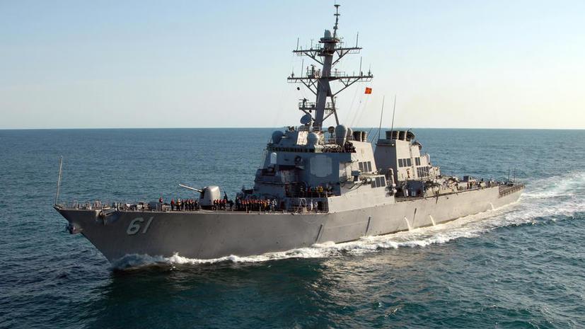 Два американских боевых корабля с морпехами на борту вошли в Чёрное море