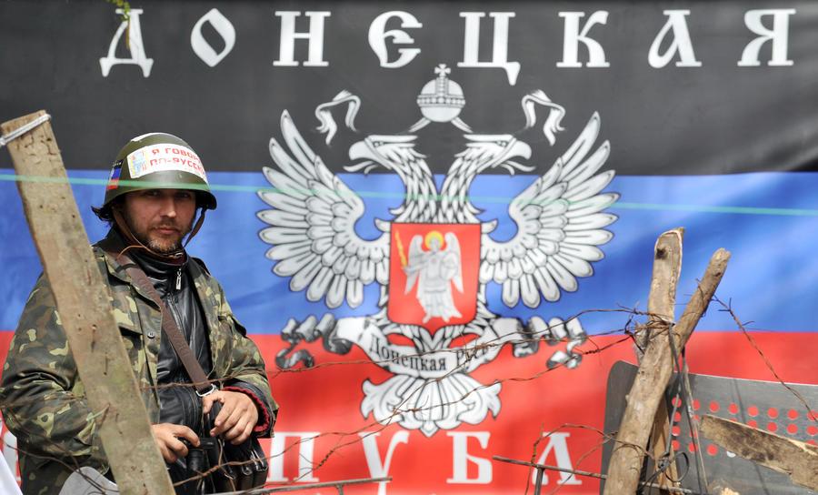 Донецкая республика отказалась признавать женевские договорённости и продолжает акции протеста