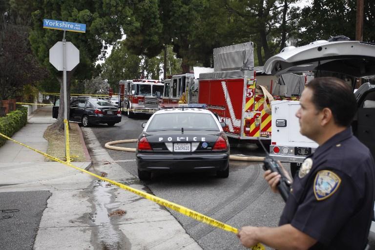 Калифорнийские полицейские задержали пожарного, который спасал людей из перевёрнутого автомобиля