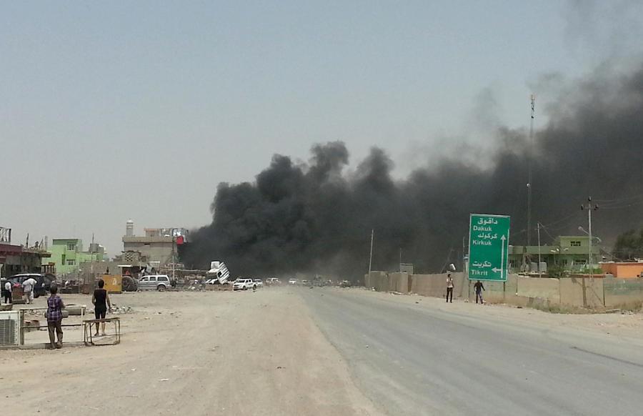 Американская авиация нанесла первый удар по боевикам группировки «Исламское государство» в Ираке