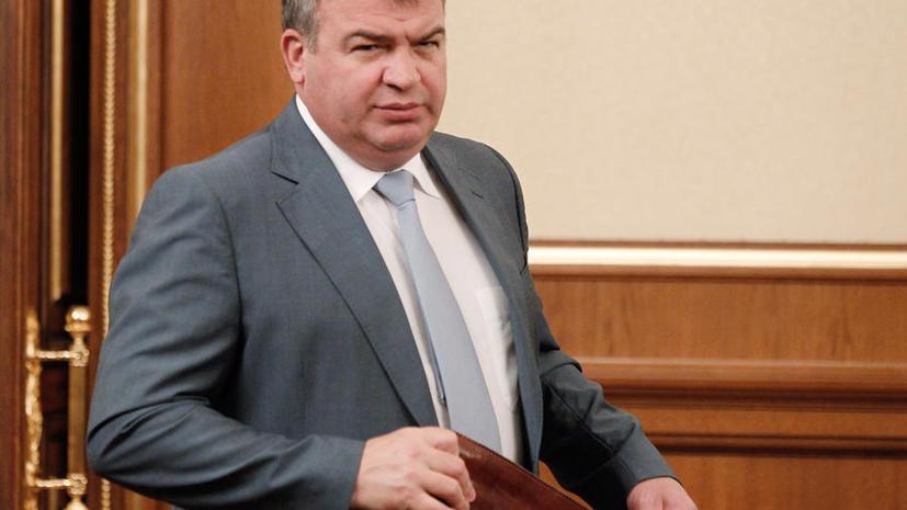 Анатолий Сердюков будет работать в «Ростехнологиях»