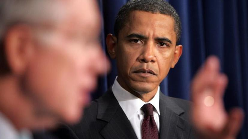 Опрос Gallup: 49% американцев считают, что администрации Барака Обамы не хватает профессионального такта