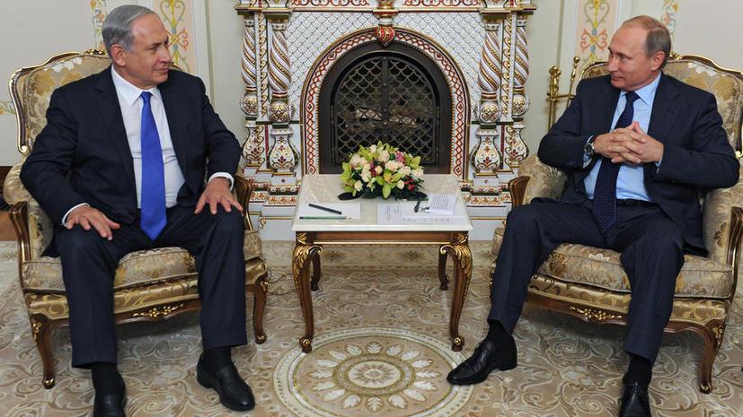 Премьер-министр Израиля встретился с Владимиром Путиным в Москве