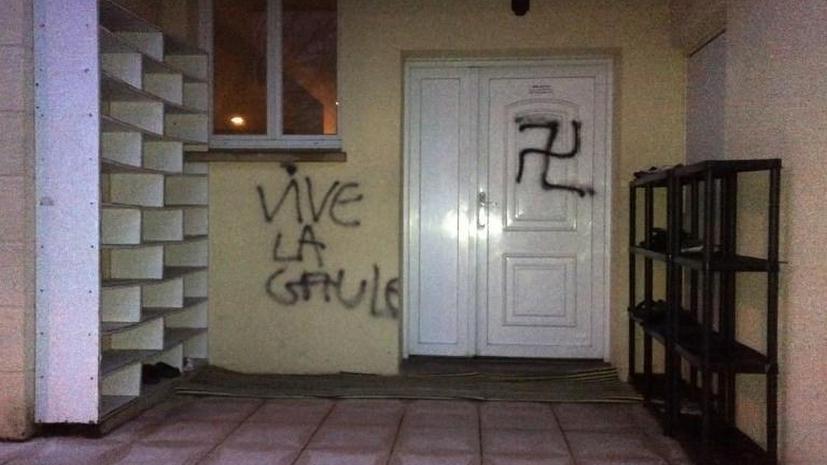 Франция во власти исламофобии: вандалы подкидывают свиные головы в мечети