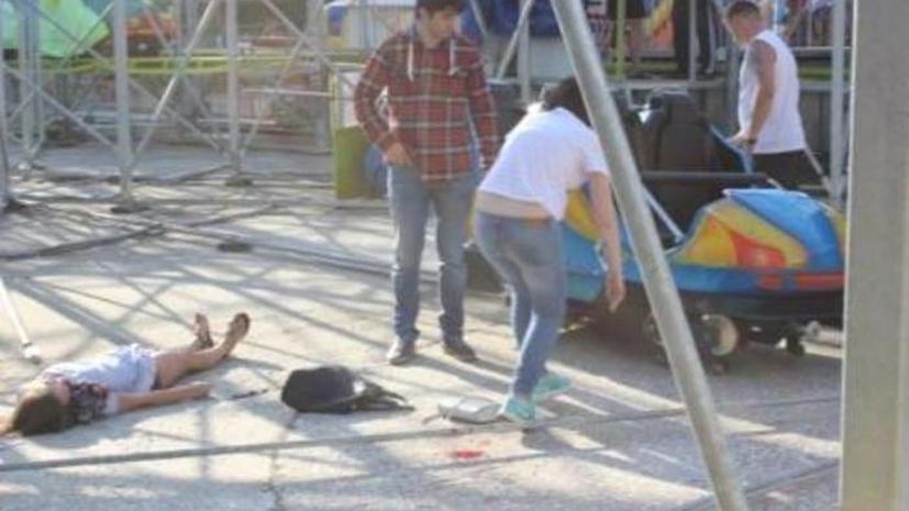 Кабинка аттракциона «американские горки» сорвалась в Екатеринбурге, пострадали четыре человека