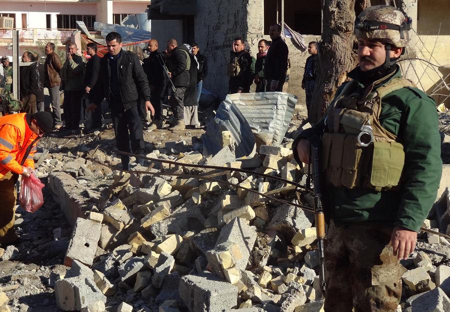 В иракском городе взорвалась бомба, 23 человека погибли