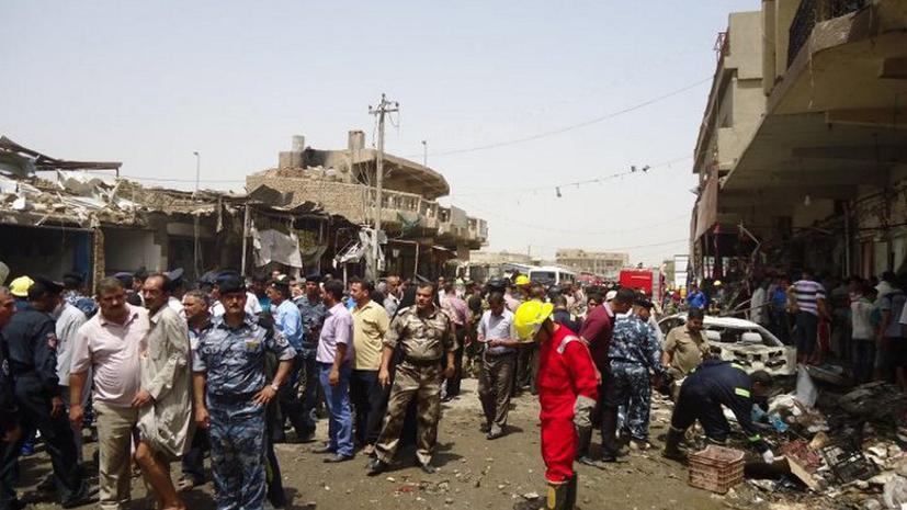 В Багдаде совершен тройной теракт: 29 человек погибли, более 120 ранены