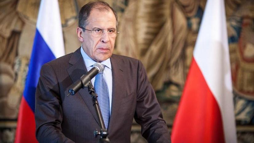 Сергей Лавров: военная инфраструктура НАТО продвигается к российским границам