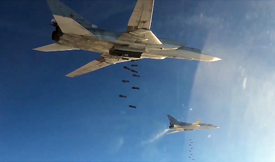 Борьба с терроризмом в Сирии. Наглядно