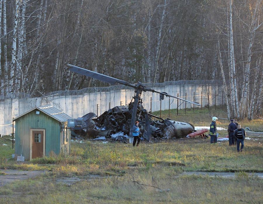 СК: по факту крушения вертолёта Ка-52 возбуждено уголовное дело