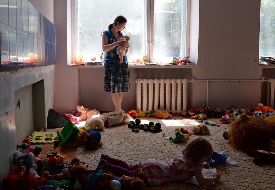 Минобороны Украины посадит беженцев с юго-востока в спецлагеря