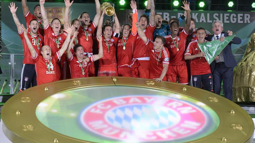 «Бавария» победила во всех турнирах сезона