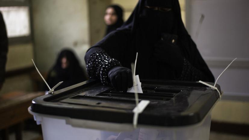 Новую Конституцию Египта поддержали 59% избирателей - предварительные данные первого тура