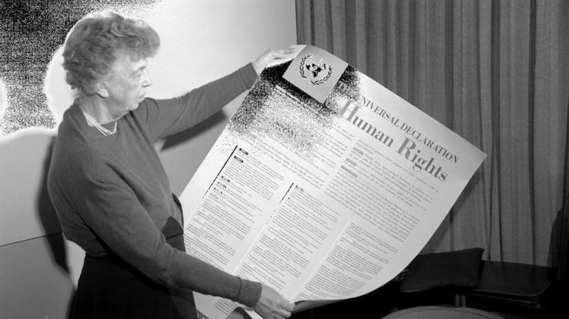 СМИ: Российские правозащитники предлагают изменить Декларацию прав человека