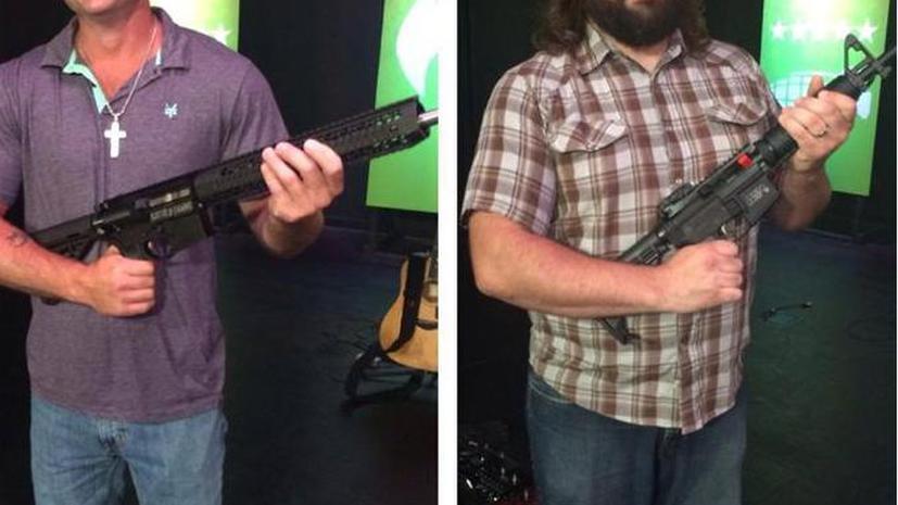 Церковь в Миссури завлекает прихожан раздачей оружия