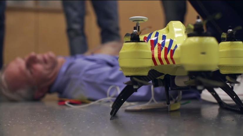 Голландский студент поставит беспилотники на службу медицине