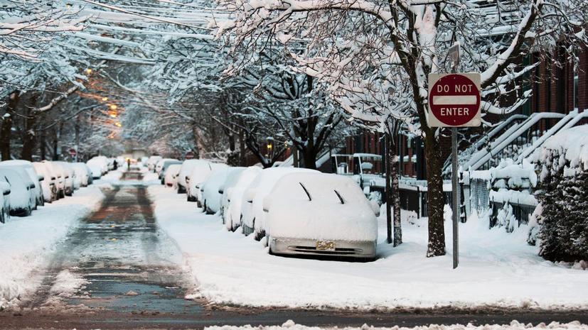 Снежный шторм Nemo унес девять жизней