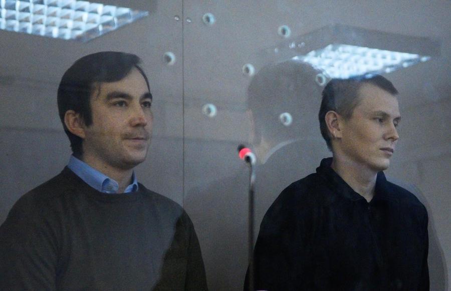 Киевский суд приговорил россиян Александрова и Ерофеева к 14 годам тюрьмы