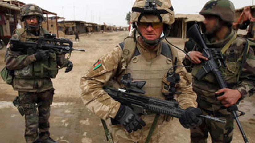 Британия досрочно выведет часть войск из Афганистана