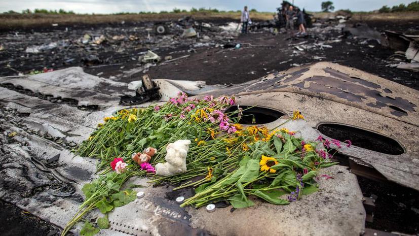 СМИ: Россия потребует от Запада возобновить расследование крушения малайзийского Boeing 777