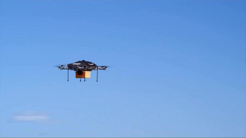 Руководство Amazon намерено доставлять посылки с помощью беспилотников