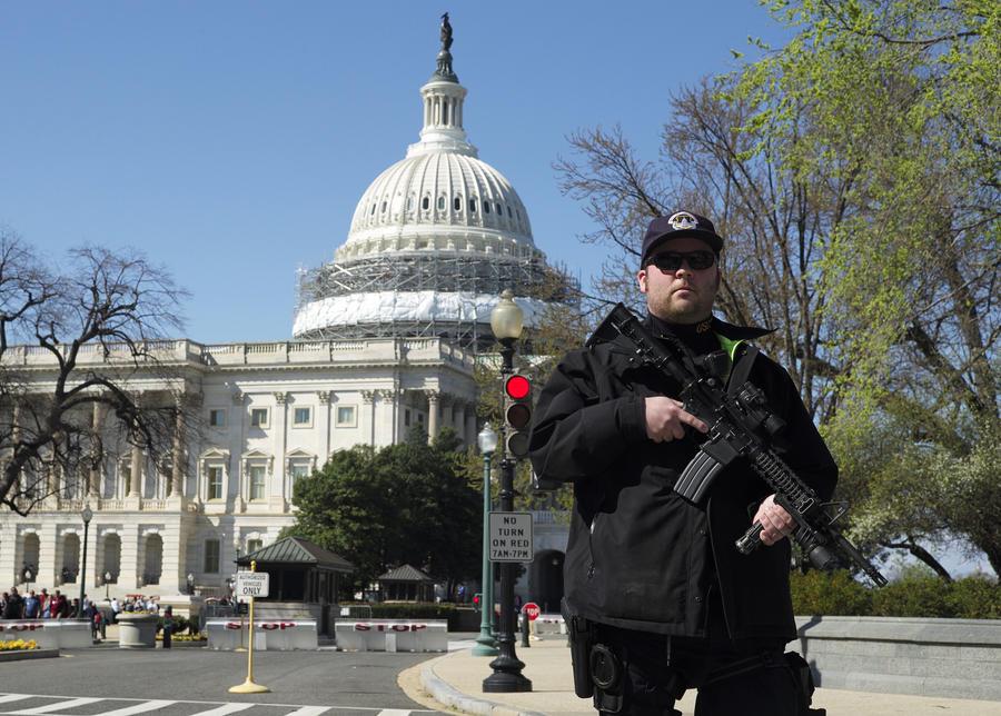 В результате стрельбы в конгрессе США пострадали два человека