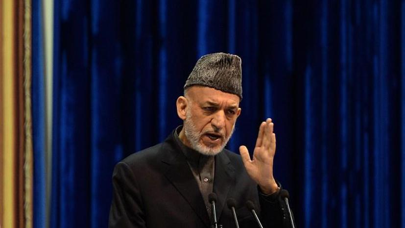 Белый дом: Президент Афганистана Хамид Карзай предлагает новые условия подписания соглашения по безопасности