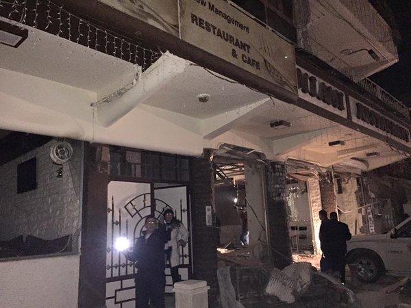 В христианском квартале сирийского города Камышли на границе с Турцией произошла серия взрывов