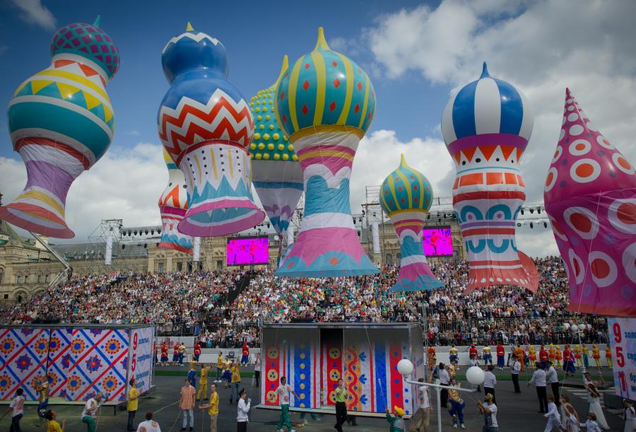 Пользователи соцсетей рассказали о праздновании Дня города в Москве