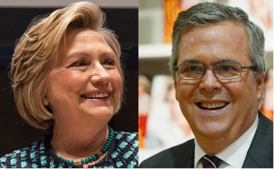 В 2016 году кресло президента вновь может достаться Клинтонам или Бушам