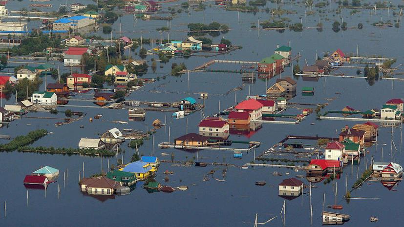 Наводнения в РФ нанесли ущерб сельскому хозяйству на 8,7 млрд рублей