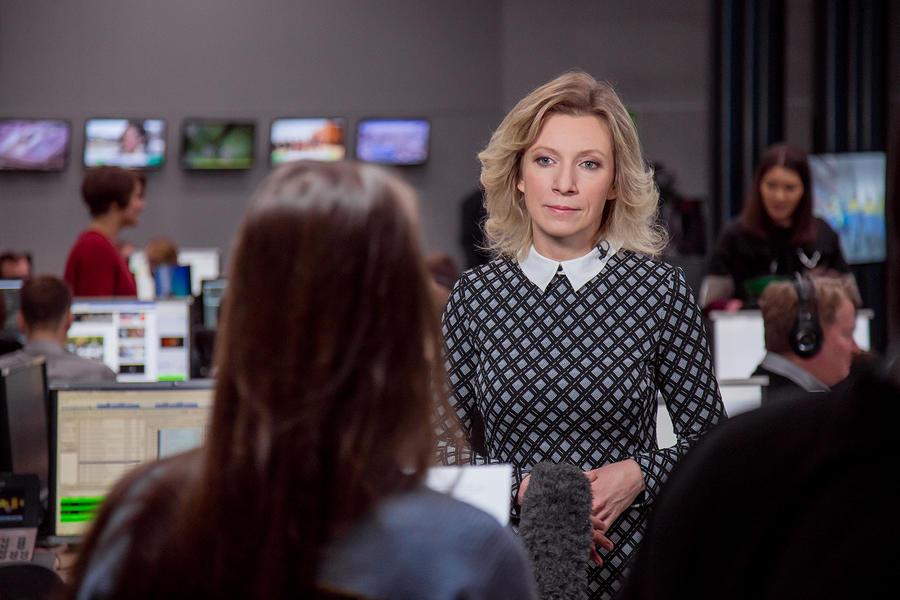 #СпросиМариюЗахарову: Представитель МИД РФ ответила на вопросы читателей RT на русском