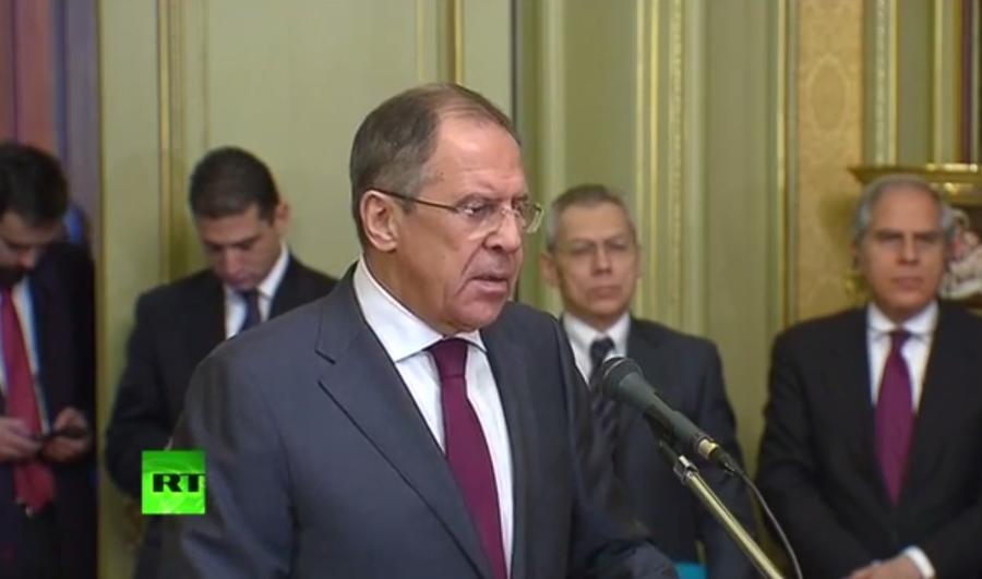 Сергей Лавров: Киев занимается экономическим и социальным удушением Донбасса