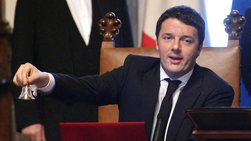 Сенат парламента Италии выразил доверие правительству Маттео Ренци