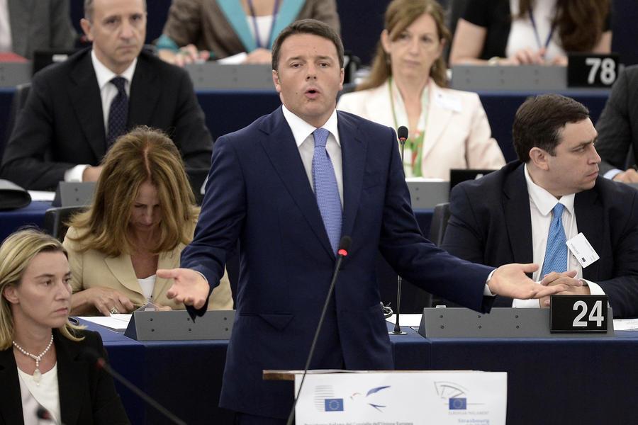 Премьер-министр Италии: Если бы Европа сделала селфи, она увидела бы своё измождённое лицо