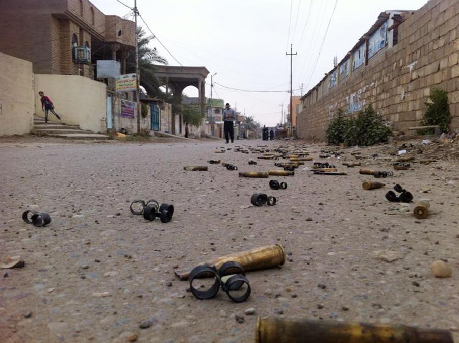 Армия Ирака уничтожила десятки боевиков-исламистов в городах Рамади и Фаллуджа