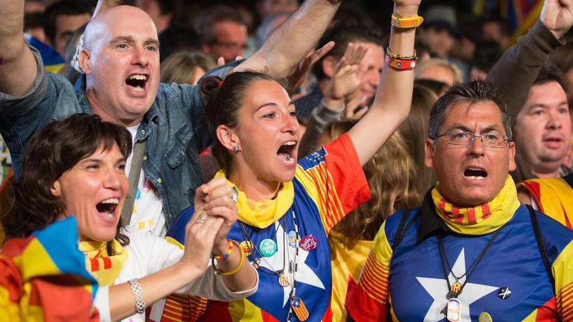 В Каталонии согласован проект резолюции по выходу из состава Испании