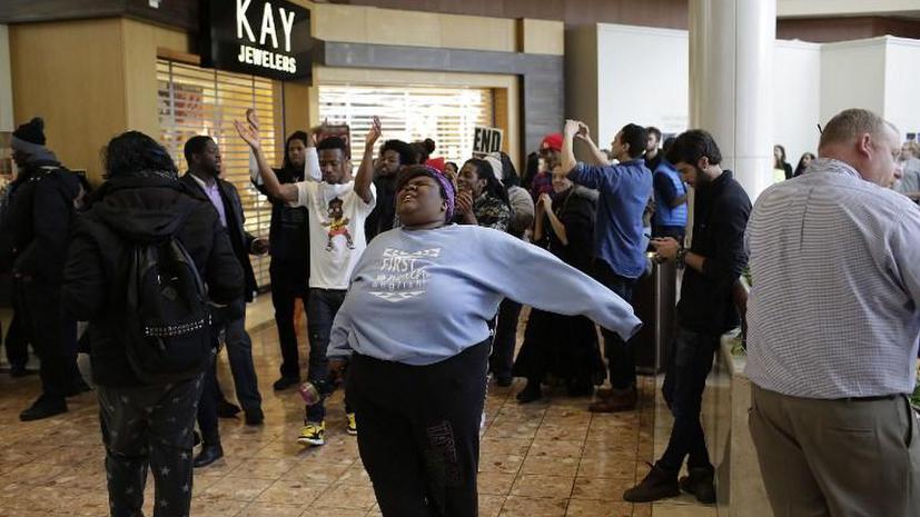 «Чёрная пятница» в США: протесты, аресты и стрельба