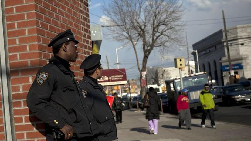 Жители Нью-Йорка вышли на митинг против полицейского беспредела