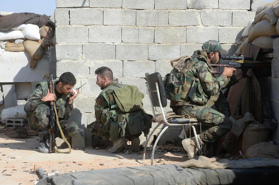 Западная коалиция нанесла авиаудар по правительственному складу в Сирии