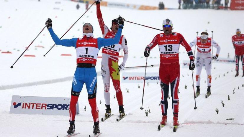Лыжник Крюков завоевал золото ЧМ по лыжам в классическом спринте