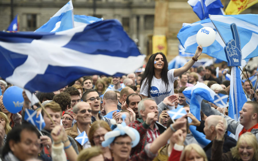 Сторонники независимости Шотландии начали новую кампанию за выход из состава Великобритании