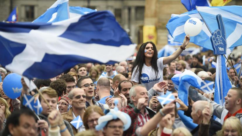 Шотландия рассмотрит возможность проведения референдума о независимости