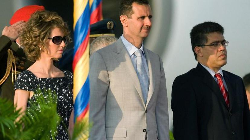 Супруга Башара Асада не собирается покидать Сирию