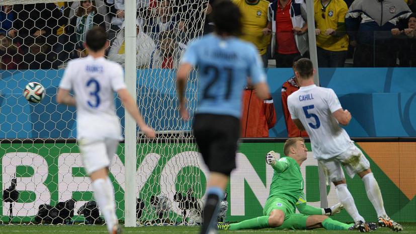 ЧМ-2014: поражение от Уругвая стало полной неожиданностью для англичан